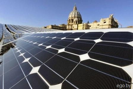 VATICAN-ENERGY-SOLAR-PANELS